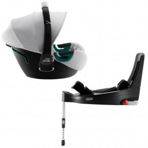 Автокресло Britax-Romer Baby-Safe3 i-Size Nordic Grey с платформой Flex Base