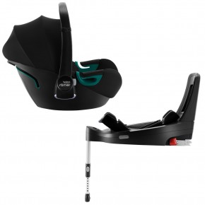 Автокресло Britax-Romer Baby-Safe3 i-Size Space Black с платформой Flex Base