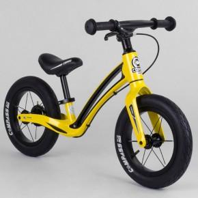 Беговел Corso Prime C7 50457 желто-черный 12 дюймов