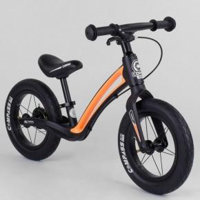 Беговел Corso Prime C7 84209 черно-оранжевый 12 дюймов
