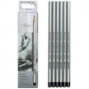 Простые карандаши чернографитные