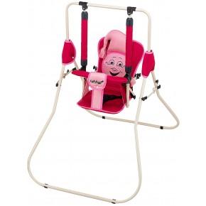 Качель Babyroom Casper  красный-св.розовый