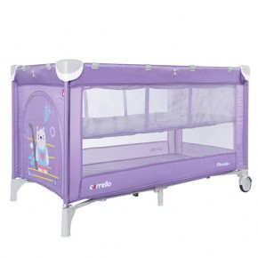 Манеж Carrello Piccolo+ CRL-9201/2 Orchid Purple два уровня дна