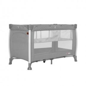 Манеж Carrello Polo+ CRL-11606 Silver Grey