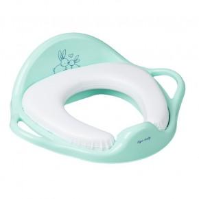 Накладка на унитаз Tega Little Bunnies KR-020 Soft мягкая 105 light green