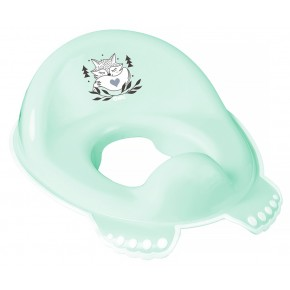 Накладка на унитаз Tega Little Fox (Plus Baby) PB-LIS-002 нескользящая 105 light green