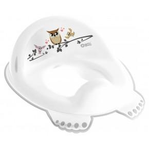 Накладка на унитаз Tega Owl (plus baby) PB-SOWA-002 нескользящая 103 white
