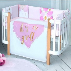 Постельный комплект Baby Veres It's a girl!