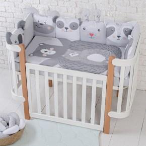 Постельный комплект Baby Veres Zoo grey