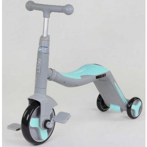 Самокат 3в1 Best Scooter, самокат-велобег-велосипед