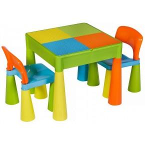 Стол и 2 стульчика Tega Mamut 899UN multicolor