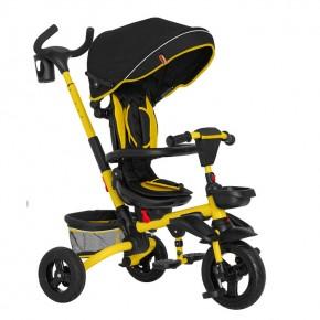 Трехколесный велосипед Tilly Flip T-390 желтый