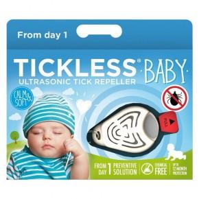 Ультразвуковой отпугиватель от клещей Tickless Baby Kid Beige