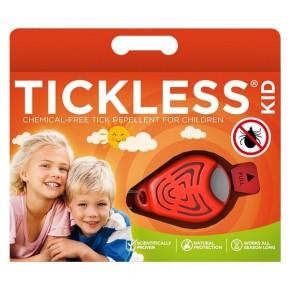 Ультразвуковой отпугиватель от клещей Tickless Baby Kid Orange
