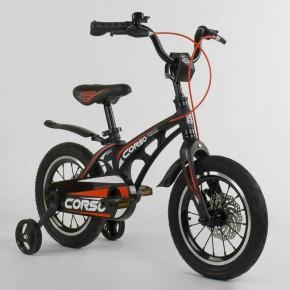 Велосипед детский Сorso Magnesium 14 дюймов усиленные спицы