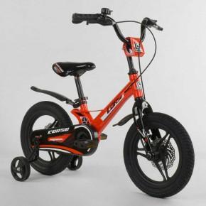 Велосипед детский 14 дюймов Corso Magnesium литые диски