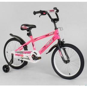 Велосипед детский Corso Aerodynamic EX-16 N 9164 16 дюймов розовый