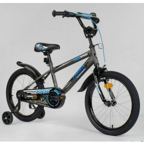 Велосипед детский Corso Aerodynamic EX-18 N 8712 18 дюймов графит