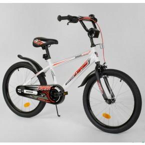 Велосипед детский Corso Aerodynamic EX-20 N 2866 20 дюймов белый