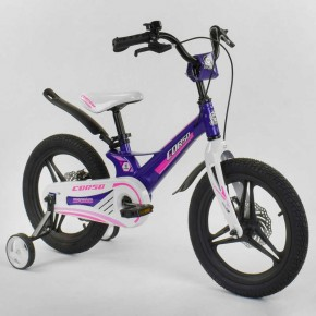 Велосипед детский Corso Magnesium 16 дюймов литые диски