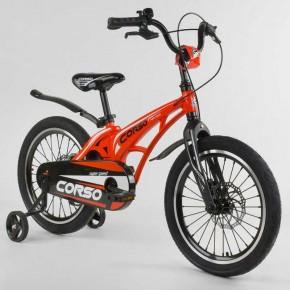 Велосипед детский Corso Magnesium 18 дюймов усиленные спицы