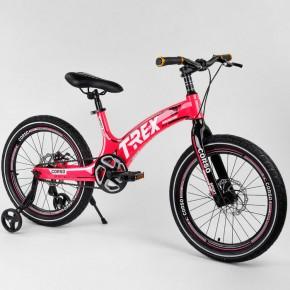 Велосипед детский Corso T-Rex 38304 20 дюймов усиленные спицы
