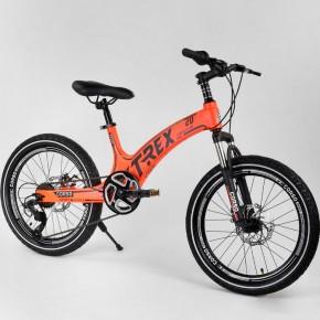 Велосипед детский Corso T-Rex 42674 20 дюймов литые диски