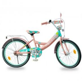 Велосипед детский Impuls Kitty карамельный 20 дюймов