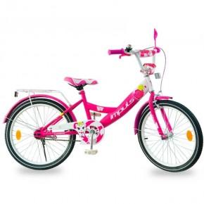 Велосипед детский Impuls Kitty малиновый 20 дюймов