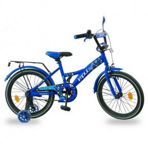 Велосипед детский Impuls Beaver 18 дюймов синий