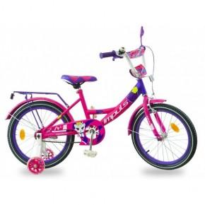 Велосипед детский Impuls Kitty малиново-фиолетовый 18 дюймов
