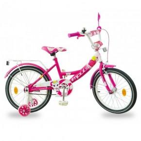 Велосипед детский Impuls Kitty малиновый 18 дюймов