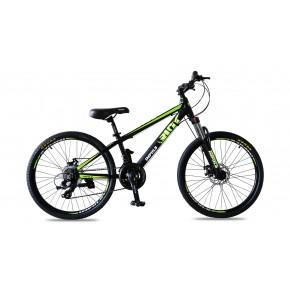 Велосипед Impuls Rio 24 black-green (Импульс Рио)