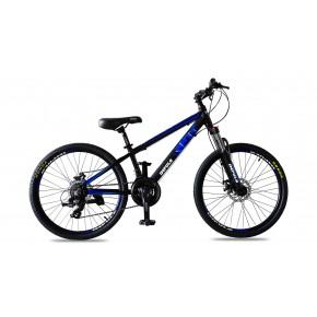 Велосипед Impuls Rio 24 black-blue (Импульс Рио)