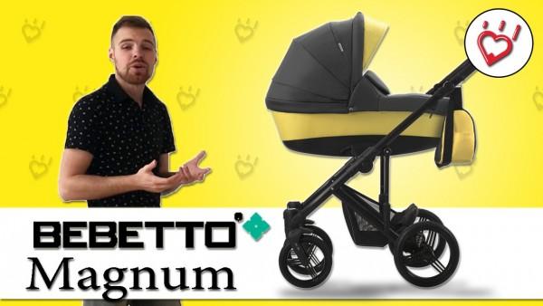 Видео обзор универсальной коляски 2 в 1 Bebetto Magnum